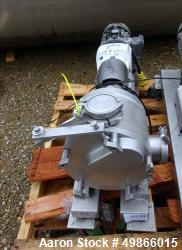Used- Watson Marlow Masosine Sine Rotary Positive Displacement Pump, Type MR 135