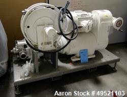 Used- Waukesha Positive Displacement Pump, Model 130