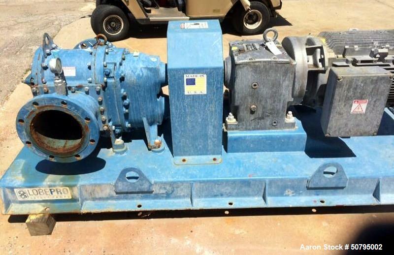 Used- LobePro Positive Displacement Rotary Lobe Pump