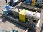 Used- APV Rotary Lobe Pump, Type DW4/073/10, Stainless Steel. 3