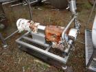 Used- Alfa Laval Rotary Lobe Positive Displacement Pump, Model SRU5/116/LS