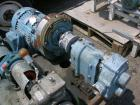 Used- Waukesha Rotary Lobe Pump, Model 125, stainless steel construction, 2.5