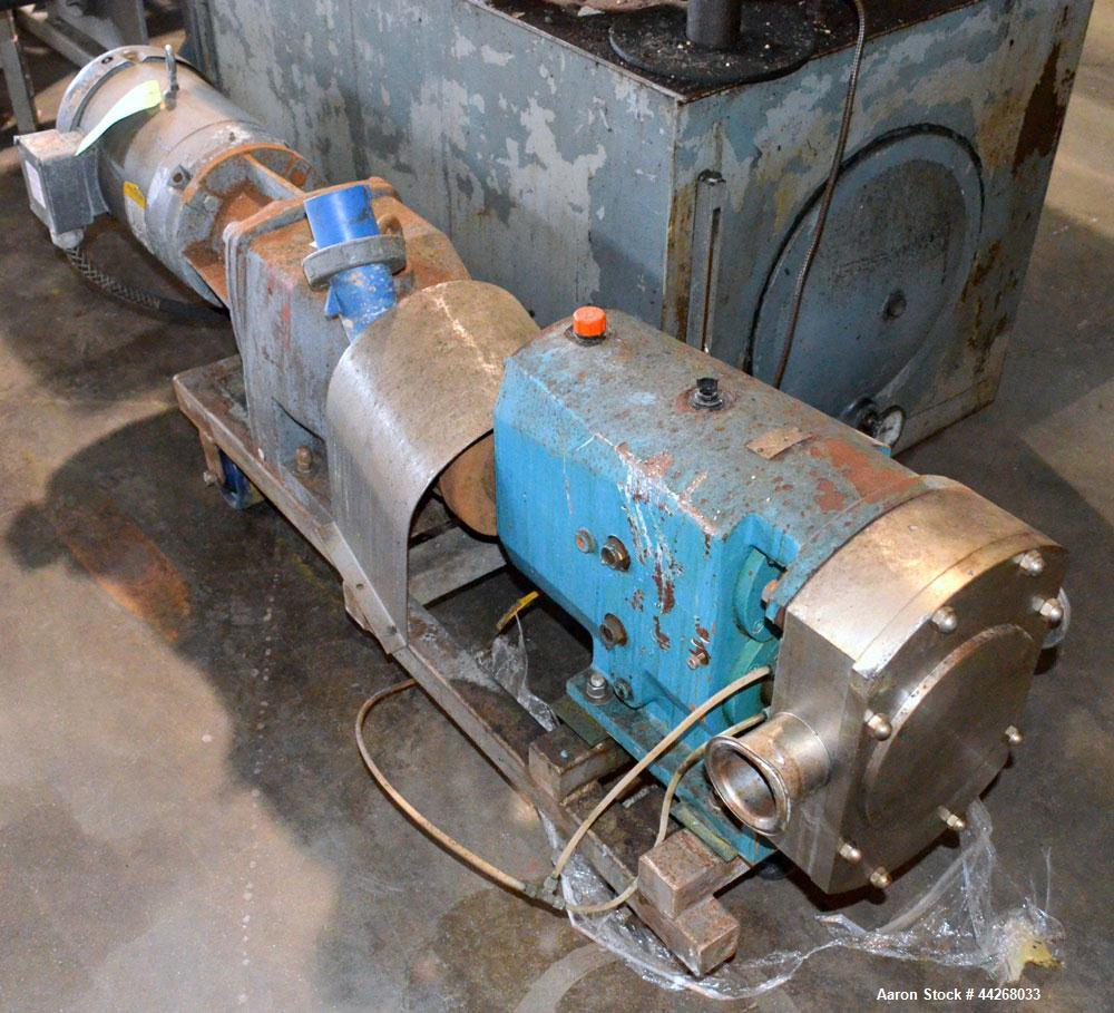 Used- Triclover centrifugal pump, Model TSR5NLD-30MFUOCL-AO