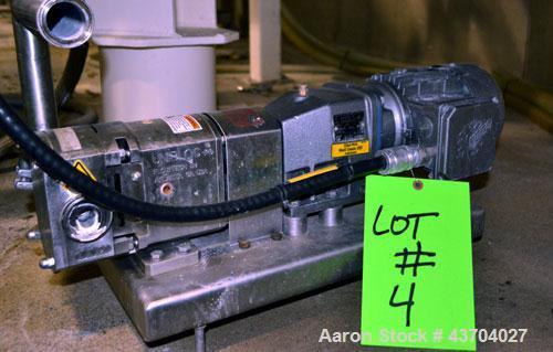 Used- Flowtech Unibloc Postive Displacement Pump
