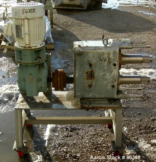 USED: Waukesha positive displacement pump parts c