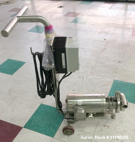 Used-Stainless Steel Portable Centrifugal Liquid Transfer Pump