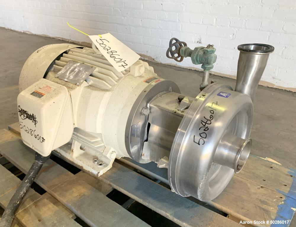 Used- Alfa Laval Model LKH-25 Centrifugal Pump
