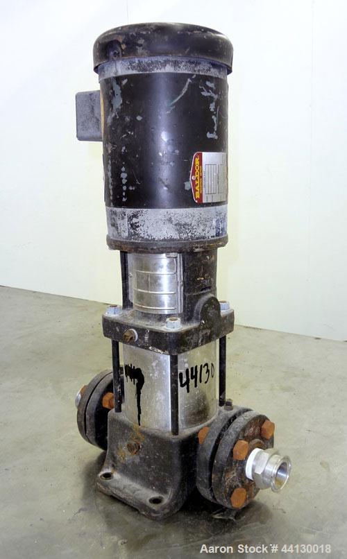 Used- Grundfos CR2 Vertical Multistage Centrifuga