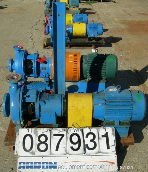 Used- Ingersoll Rand Centrifugal Pump, Size 3x1 5