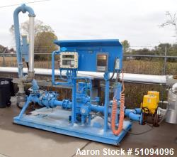 Used- Westmor Fluid Solutions Loading Pump Station, Approximate 600 Gallons Per Minute. Consisting of: (2) Triac XP electric...