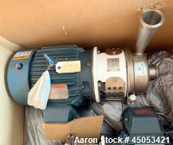 Unused- APV Crepaco Centrifugal Pump, Stainless Steel, Model W20/20