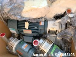 Unused- APV Crepaco Centrifugal Pump, Stainless Steel, Model W40/20