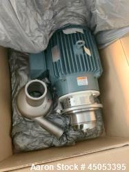 Unused- APV Crepaco Centrifugal Pump, Stainless Steel, Model WI30/100