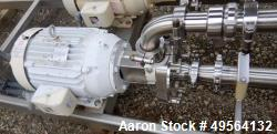 Used- Fristam Centrifugal Pump, Model 742-180, Stainless Steel Construction.