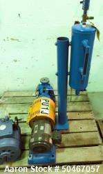 "Used-1.5 x 1"" Goulds centrifugal pump, stainless steel construction, mechanical seal with seal pot, 1.5 hp, 230/460 volt XP ..."