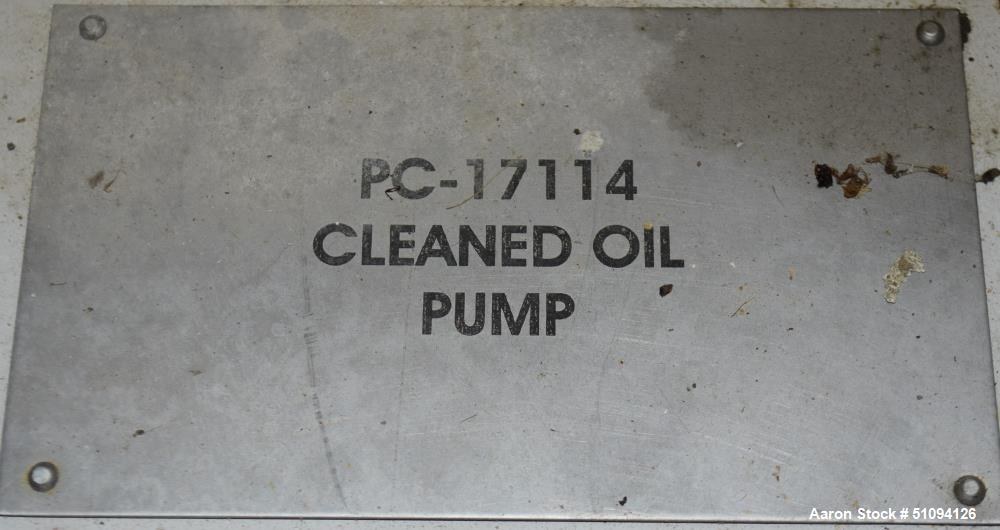 Used-Sulzer CPT Chemical Centrifugal Pump, Model CPT12-1B, Stainless Steel. Rated 50 gallons per minute at 55 head at 1770 r...