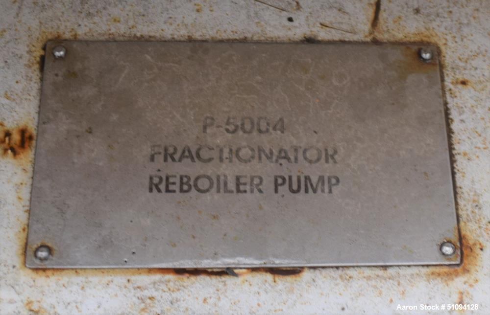 Used- Sulzer CPT Chemical Centrifugal Pump, Model CPT22-1-LF