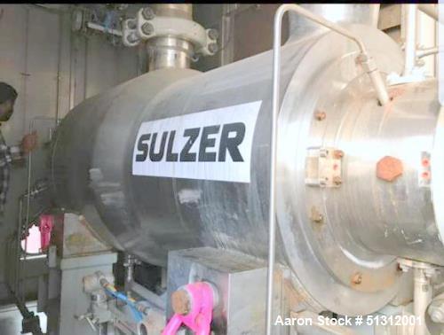Used- Sulzer High Pressure Barrel Casing Pump