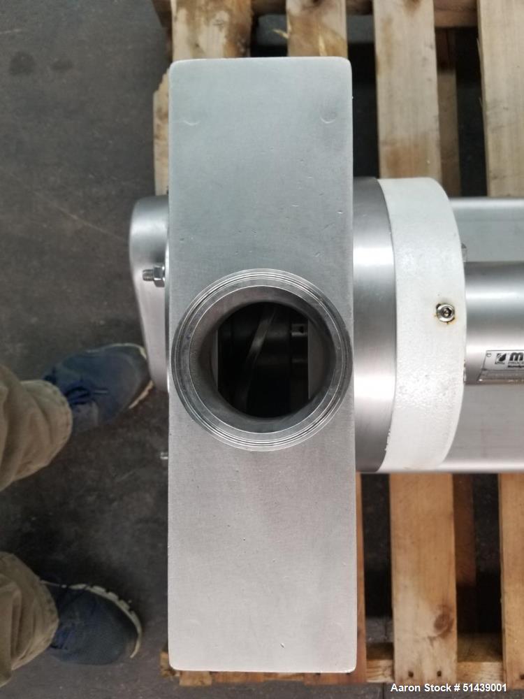 Maso Sine MR Series Low-Shear Sanitary Pump