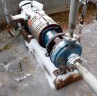 Used- Goulds Centrifugal Pump, Stainless Steel. Approximate 2