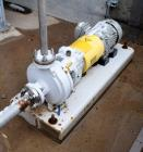 Used- Sulzer CPT Chemical Centrifugal Pump, Model CPT12-1-LF, Stainless Steel. Rated 5 gallons per minute at 85 head at 1770...