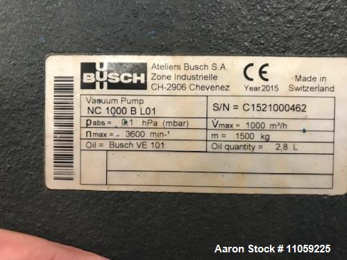 Used- Busch Vacuum Pump, Model Cobra NC1000BL01