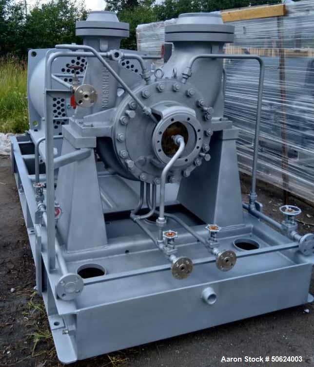 Unused- Ingersoll Dresser Flowserve Double Suction Process Pump