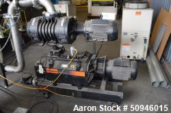 Used- Busch Single Stage Cobra Dry Screw Vacuum Pump, Model NC 0630 B L06 XXVA. Rated 400 acfm, <15 Torr. Driven by a 20hp, ...