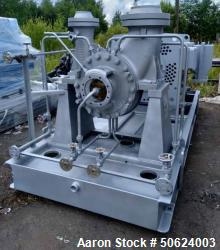 Unused- Ingersoll Dresser Flowserve Double Suction Process Pump