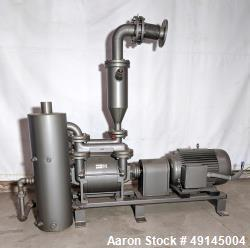 Used- Hick Liquid Ring Vacuum Pump, Type VHR 450