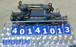 Used- Carbon Steel Ingersoll-Dresser Multistage Ring Vacuum Pump, Model WDR32
