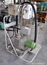 Used- Leybold-Heraeus Rotary Piston, Oil Seal Vacuum Pump, Model DK50