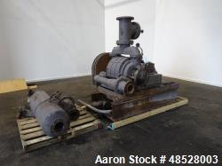 Used- Nash Hytor Liquid Ring Vacuum Pump, Model 1002, Carbon Steel.