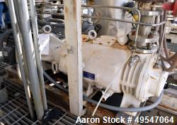 Used- Elmo Rietschle Vacuum Pump. Driven by a 10hp XP motor. Includes a control panel and knockout pot. Serial# 599.