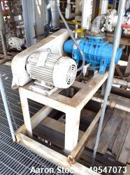 Used- Tuthill Vacuum Booster, Model 720-A2L2CVS00-A, Carbon Steel. Driven by a 10hp XP motor. Serial# 3487971704, built 2017.