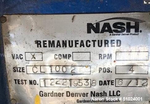 Nash CL-1002 Vacuum Pump