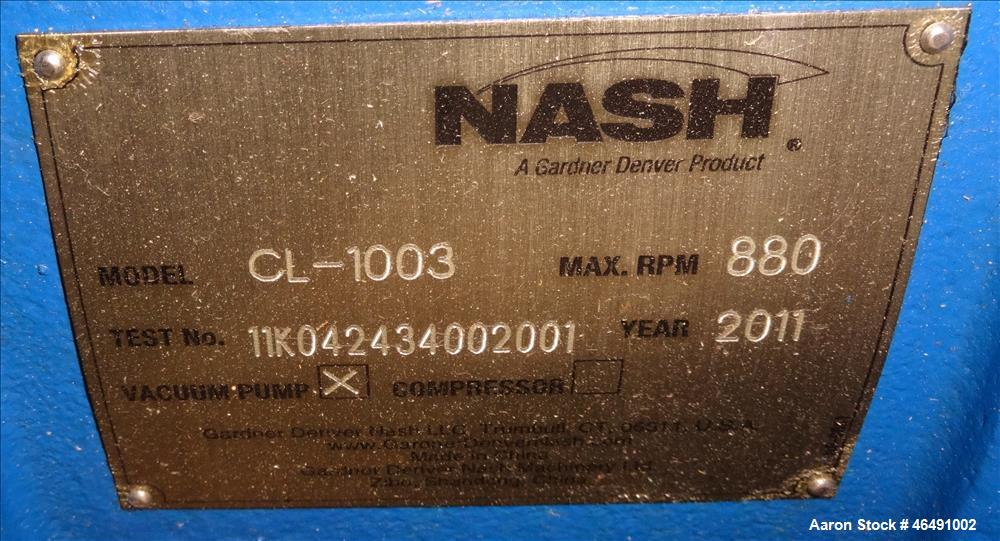 Unused- Nash CL Series Liquid Ring Vacuum Pump
