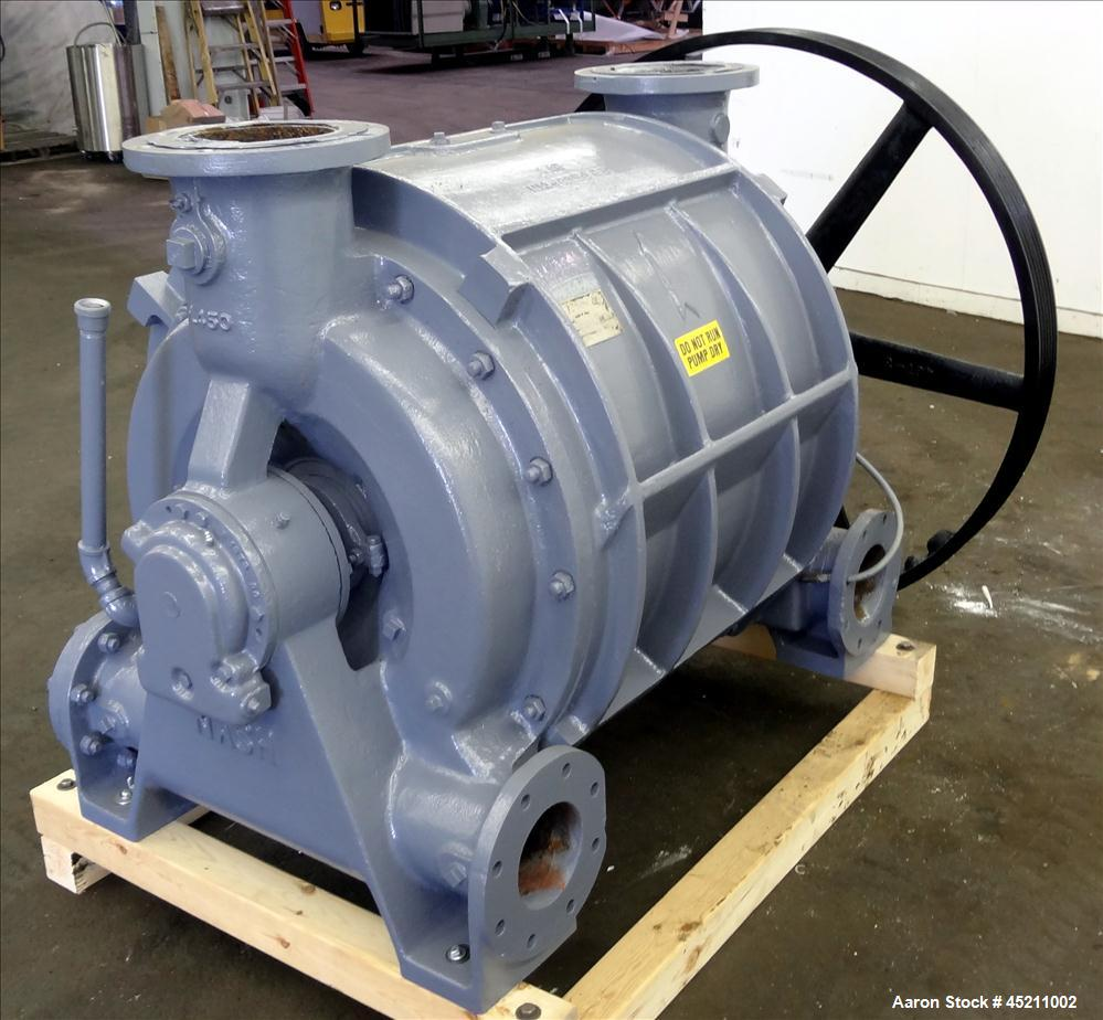 Carbon Steel Rolleri Machine Mexico: Used- Nash Liquid Ring Vacuum Pump, Model CL-3001