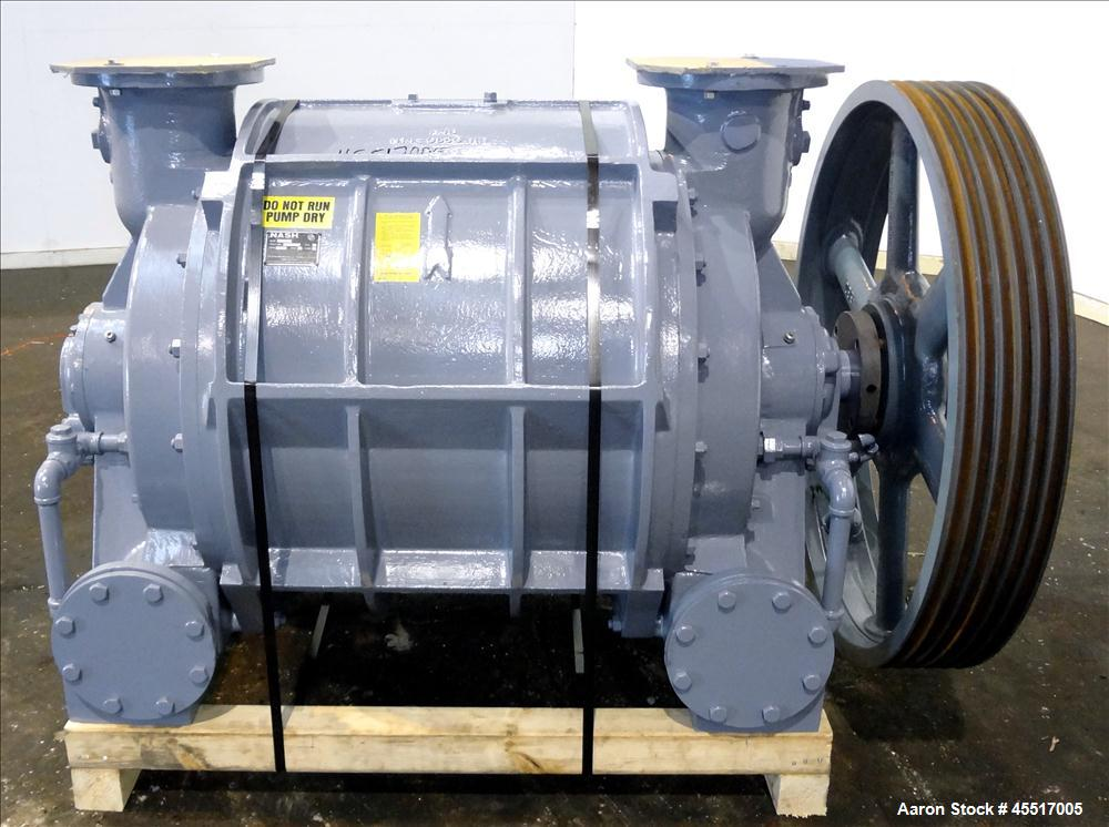 Used Nash Liquid Ring Vacuum Pump Model Cl3002