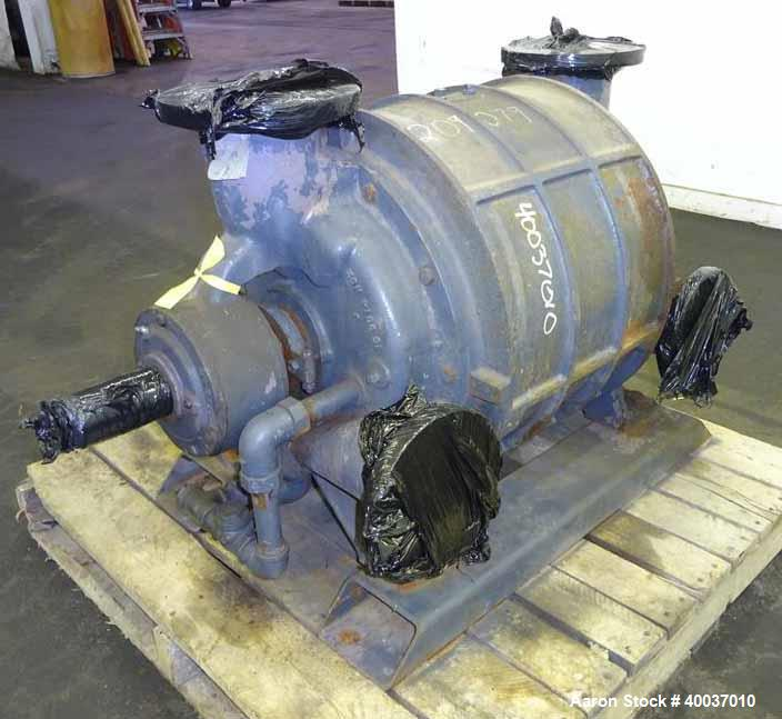 Used- Carbon Steel Nash Vacuum Pump, Type CL1003