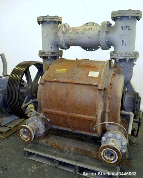 Used- Nash Liquid Ring Vacuum Pump, Model CL3003