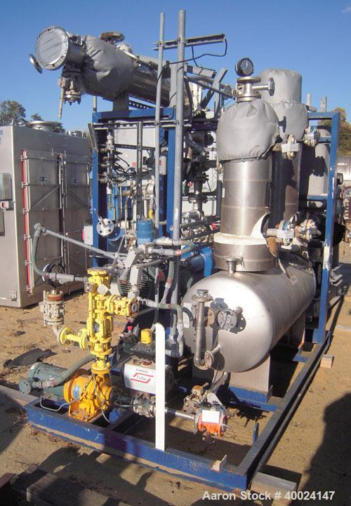 Used- Rosenmund Apovac System, Hastelloy construction, consisting of: (1) Sulker Burckhardt liquid ring compressor, model PM...