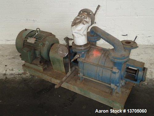 Used SIHI Model LPHR-55312 Two Stage Liquid Ring Vacuum Pump