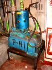 Used-Used: Kinney vacuum pump, model KDH-130. 134 CFM. Driven by a 7.5 hp,3/60/230/460 volt, 1745 rpm xp motor. Includes tan...