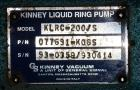 Used- Kinney 2 Stage Liquid Ring Vacuum Pump, Model KLRC-200S