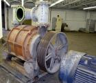 "Used- Nash Liquid Ring Vacuum Pump, Model CL3003, Carbon Steel. Approximate 2600 CFM at 25"" HG, at 500 rpm. Driven by a 200h..."