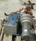 Used- Rietschle Oil Seal Vacuum Pump, Type VL-100-01. Approximately 58.86 cfm at 225 TORR. Driven by a 5 hp, 3/60/230/460 vo...