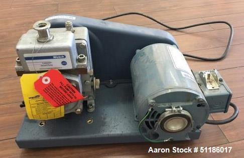 Used- Welch Chemstar 1400N Vacuum Pump