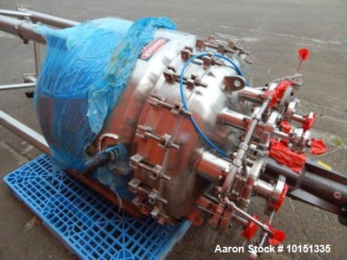 Used- Approximately 100 Gallon Hastelloy Vertical Reactor