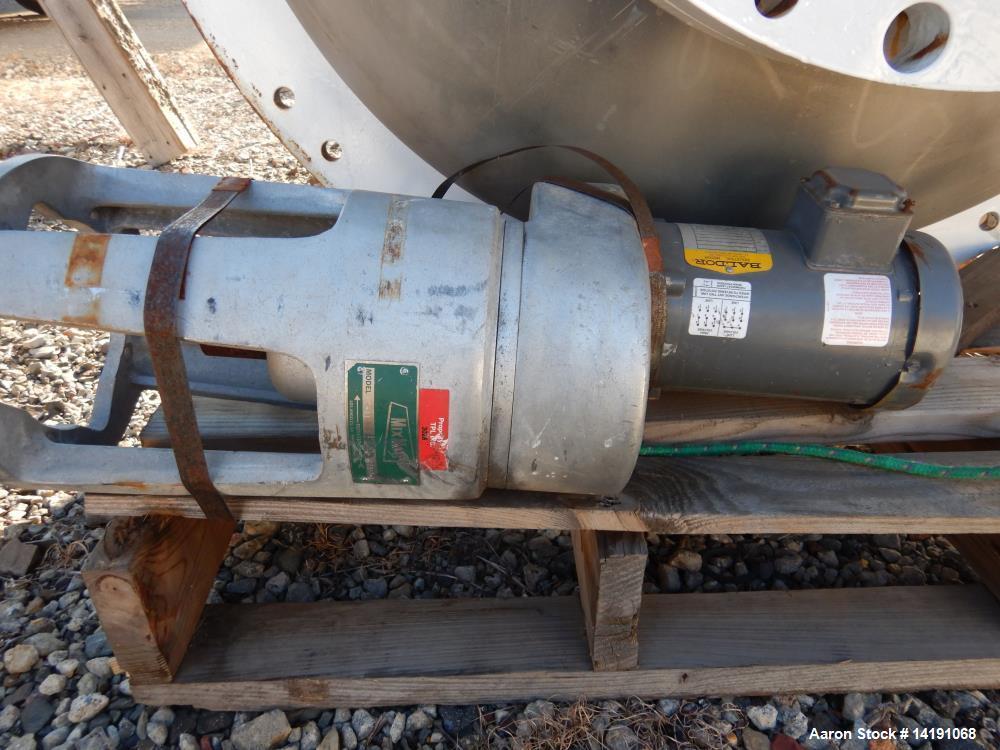 Used- 350 Gallon Hastelloy C276 Brighton Reactor